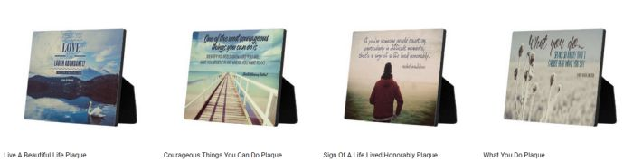 Popular Inspirational Plaques