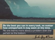 Do The Best You Can Inspirational Quote Graphic