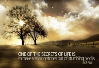 Customized Inspirational Poster: Secrets of Life Motivational Poster