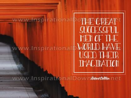 Great Successful Men Inspirational Quote Graphic
