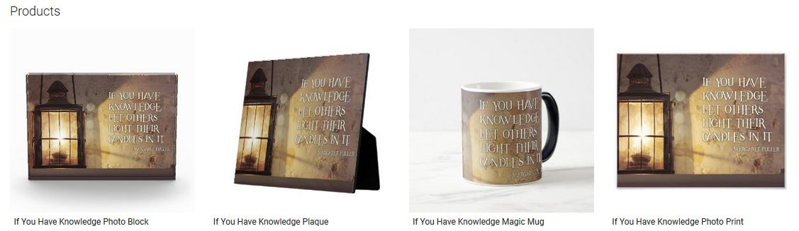 If You Have Knowledge Inspirational Quote Graphic Customized Products