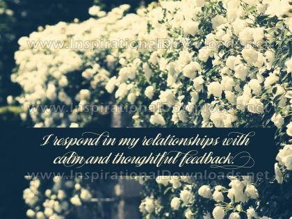 In My Relationship Inspirational Quote Graphic