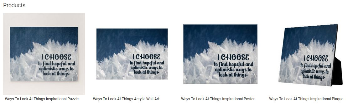 Ways To Look At Things Inspirational Quote Graphic Customized Products
