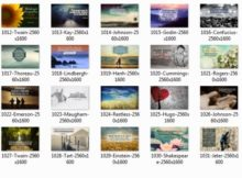 1406 Series Inspirational Quotes Posters 500x350