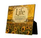 Life - How You Respond by Lou Holtz Inspirational Plaque