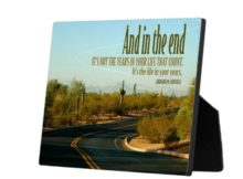 Life In Your Years Inspirational Plaque