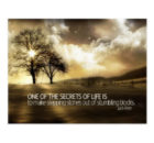 Secrets Of Life by Jack Penn Bestselling Inspirational Postcard
