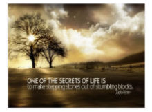 Secrets Of Life by Jack Penn Inspirational Postcard