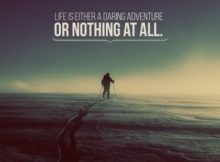 1350-Adventure Inspirational Graphic Quote Poster