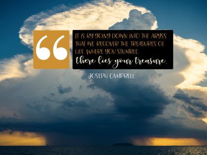 2474 Campbell Inspirational Graphic Quote Poster