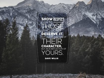 2477 Willis Inspirational Graphic Quote Poster