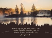 New Hope by Unknown Author Inspirational Graphic Quote Poster