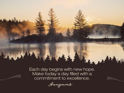New Hope by Unknown Author Inspirational Graphic Quote [February 2020]