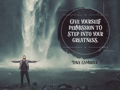 2490 Gambrill Inspirational Graphic Quote Poster