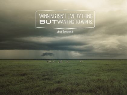 1437-Lombardi Inspirational Graphic Quote Poster