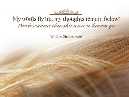 1441-Shakespeare Inspirational Graphic Quote Poster