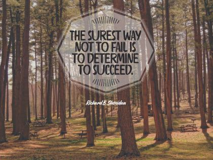1543-Sheridan Inspirational Graphic Quote Poster