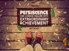 Extraordinary Achievement by Matt Biondi Inspirational Quote Graphic