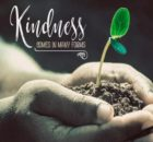 Kindness by Positive Affirmations Inspirational Quote Graphic
