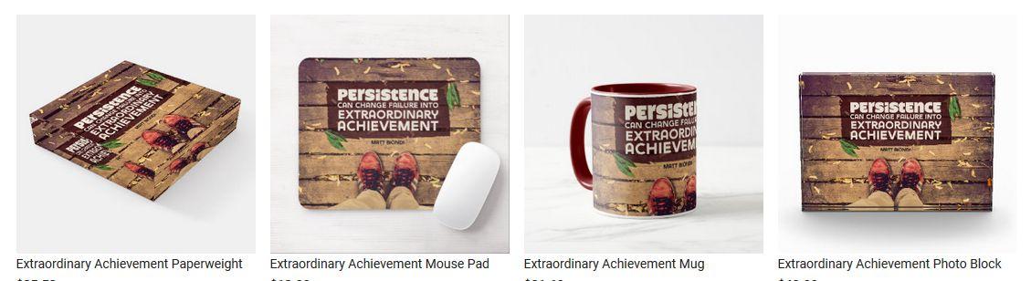 Extraordinary Achievement by Matt Biondi Customized Inspirational Products
