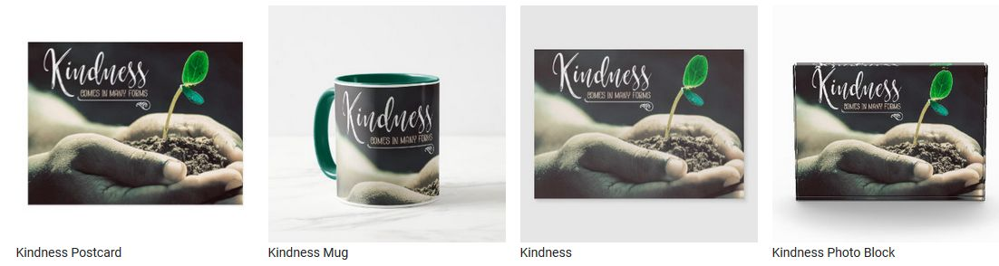 Kindness by Positive Affirmations Customized Inspirational Products