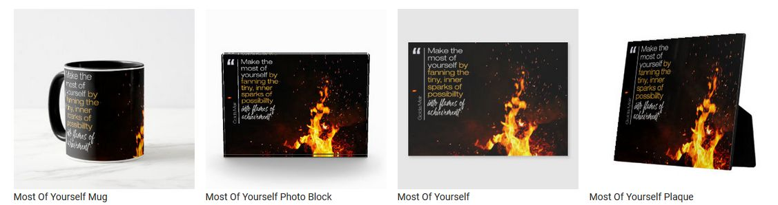 Most Of Yourself by Golda Meir Customized Inspirational Products