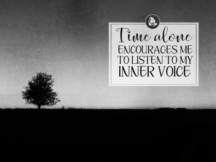 2497-Voice Inspirational Graphic Quote Poster