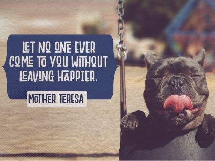 2537-Teresa Inspirational Graphic Quote Poster