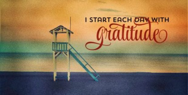 Start Each Day With Gratitude by Positive Affirmations