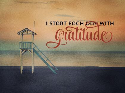 2539-Gratitude Inspirational Graphic Quote Poster