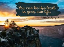 Be The Lead by Kerry Washington Inspirational Poster