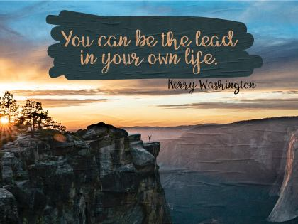 2543-Washington Inspirational Graphic Quote Poster