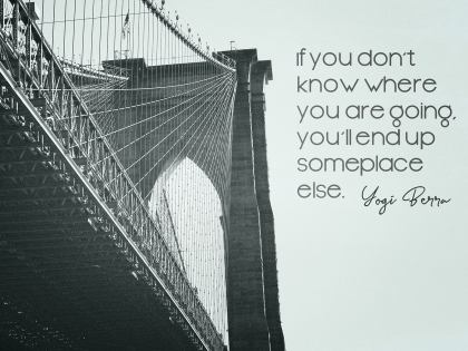 2546-Berra Inspirational Graphic Quote Poster