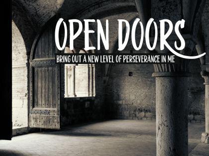 1816-Doors Inspirational Quote Graphic