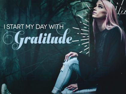1954-Gratitude Inspirational Quote Graphic