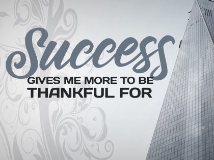 1970-Success Inspirational Quote Graphic