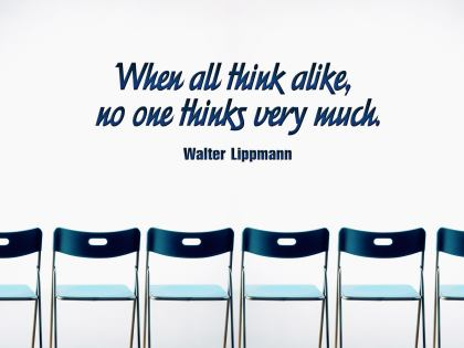 348-Lippmann Inspirational Quote Poster