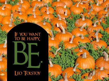 406-Tolstoy Inspirational Graphic Quote Poster