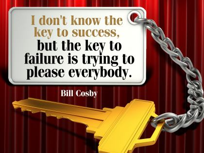 501-Cosby Inspirational Graphic Quote Poster