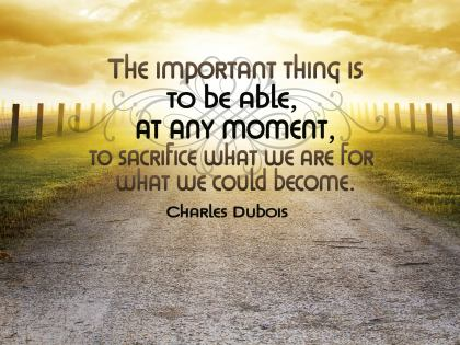 508-Dubois Inspirational Graphic Quote Poster