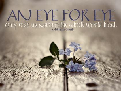 514-Gandhi Inspirational Quote Poster