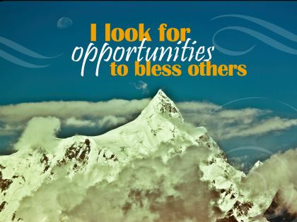 692-Bless Inspirational Graphic Quote Poster