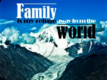 693-Family Inspirational Graphic Quote Poster