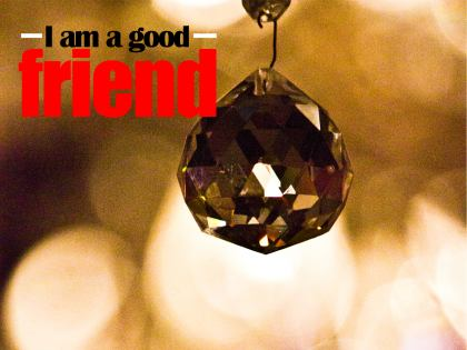 696-Friend Inspirational Graphic Quote Poster