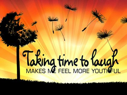 772-Laugh Inspirational Graphic Quote Poster
