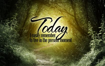 774-Today Inspirational Graphic Quote Poster