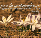 Great Miracle Cure by Louise Hay Inspirational Graphic Quote
