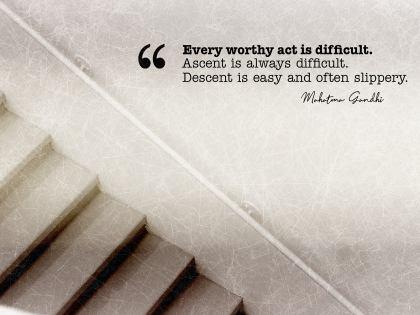 2586-Gandhi Inspirational Quote Graphic