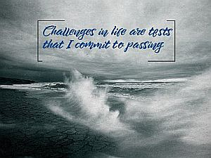 2653-Challenges Inspirational Quote Graphic