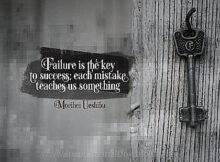 Key To Success by Maribel Ueshiba Inspirational Thought Graphic